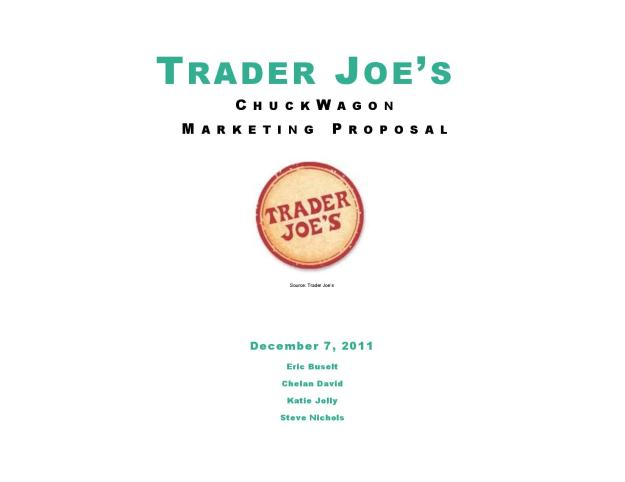trader joes case analysis 2 essay Trader joe's and their suppliers agree on a mutual secrecy to keep the media out of their business but also to keep customers and competition anticipating trader joe's next move.